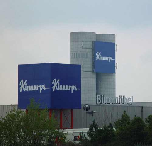Neuer Werbeauftritt bei der Kinnarps Samas GmbH